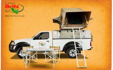 Britz 4×4 Single Cab mit Dachzelt – Nissan Benziner (MSEP)