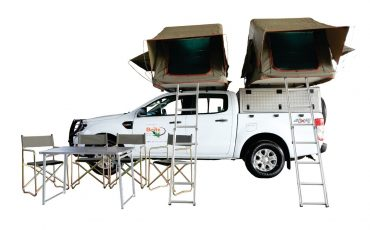 Britz 4×4 Double Cab mit Dachzelt – Ford Ranger (FDE)