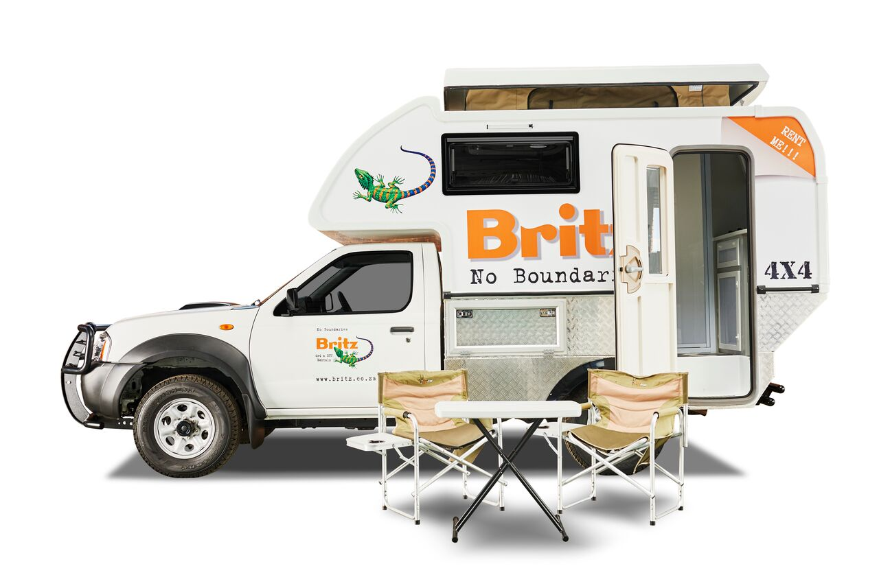 britz 4x4 navi camper nissan o toyota navi. Black Bedroom Furniture Sets. Home Design Ideas