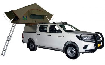 Asco J Toyota Hilux – 4×4 Double Cab mit 1 Dachzelt
