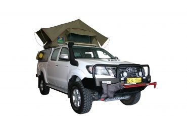 Asco S+ Toyota Safari – 4×4 Double Cab mit 1 Dachzelt