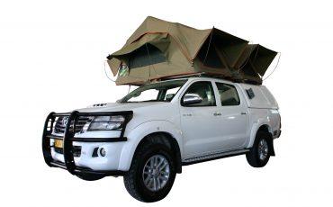 Asco T+ Toyota Safari – 4×4 Double Cab mit 2 Dachzelten