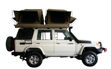 Asco W Toyota Landcruiser- 4×4 Stationwagon mit 2 Dachzelten