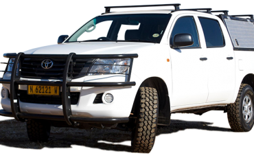 Safari Car Rental C – Toyota Hilux 4×4 Double Cab