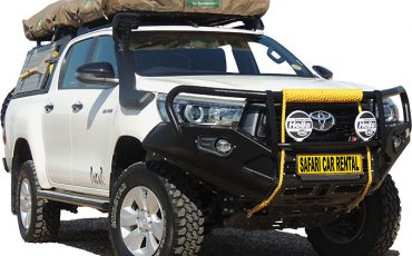 Safari Car Rental V- Toyota Expedition 4×4 Double Cab
